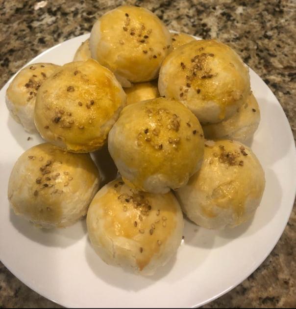 Bánh bao nướng (Bà xã của Dũng Hồ)