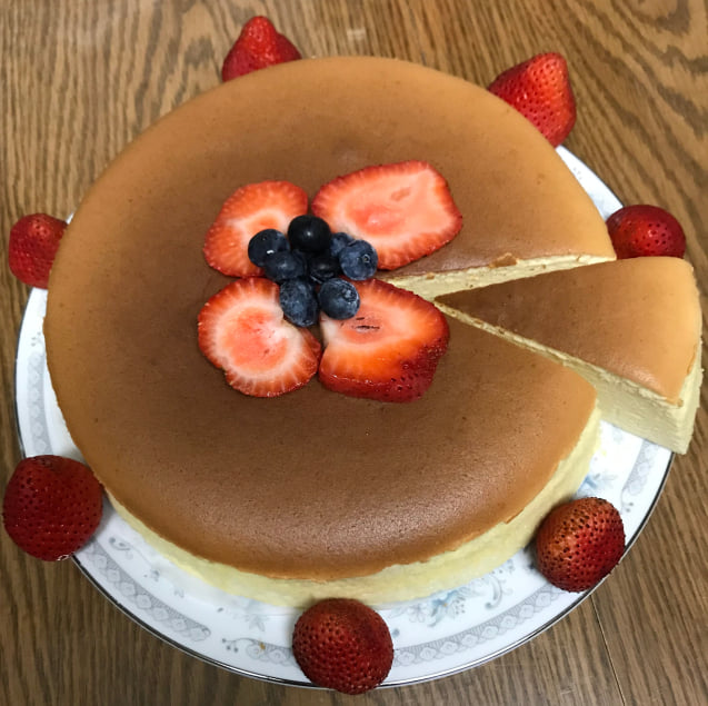 Cotton cheesecake (Lệ Hoa)